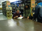 Lester B. Pearson C.I. presentation - Signing books